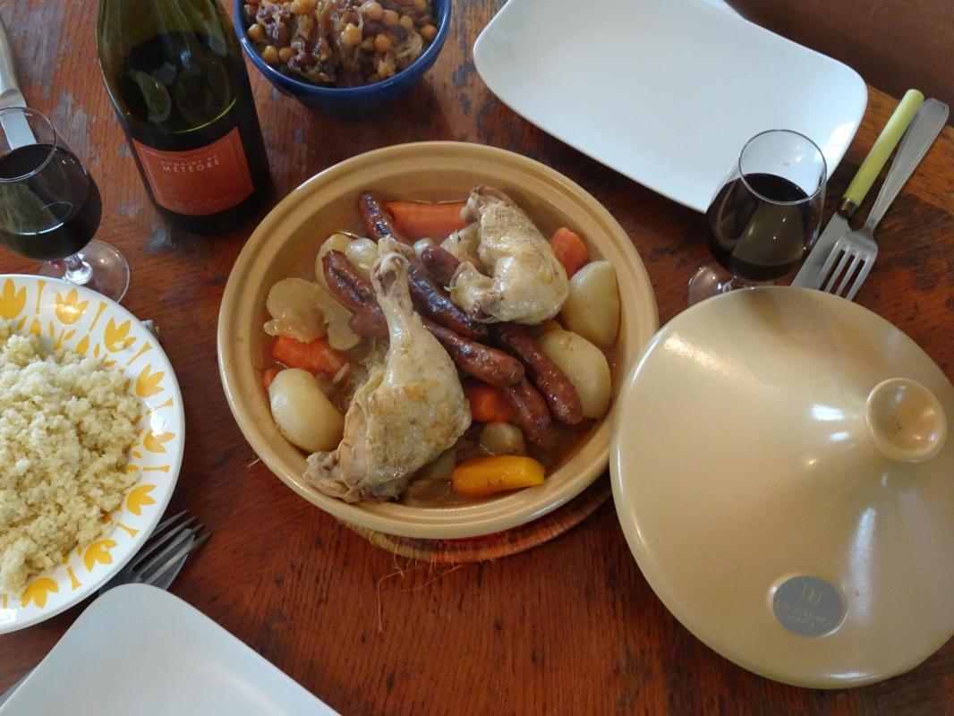Couscous Saint Chinian Languedoc Accord met-vin Oenoskol