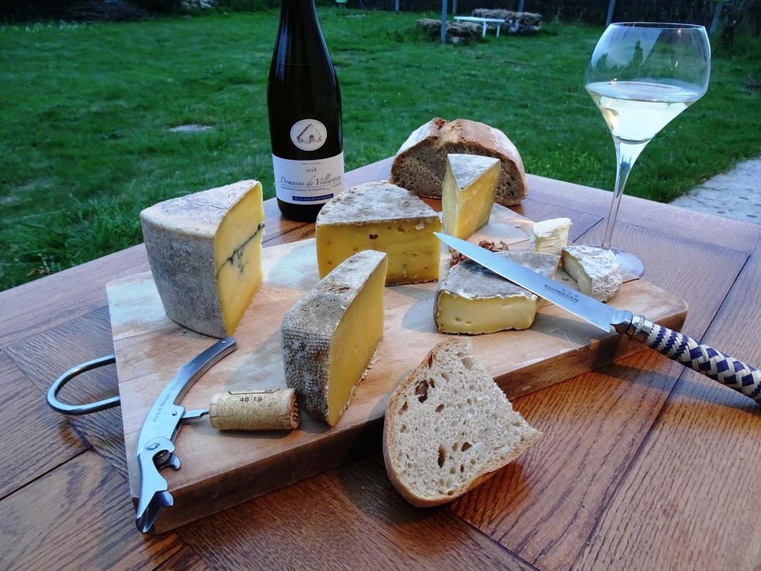 Fromage sauvignon Loire Coteaux du Giennois Villargeau Oenoskol